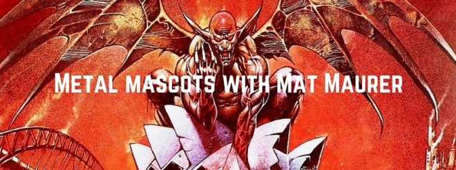 Metal mascots with Mat from Mortal Sin